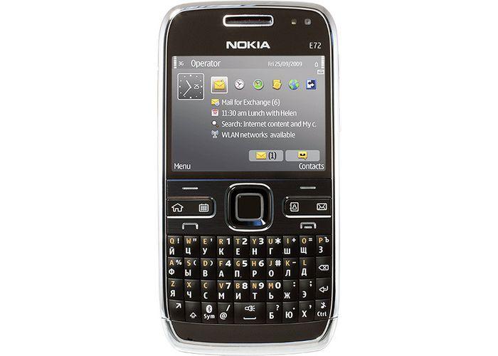 Nokia e72 пришел на смену модели nokia e71, у которой камера была 3-мп, а у новинки nokia e72