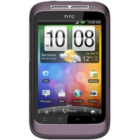 HTC HTC Wildfire S purple
